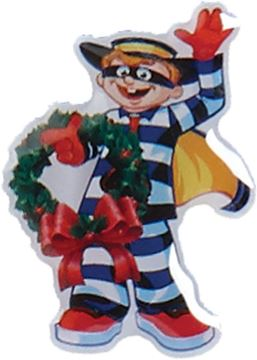 Picture of Hamburglar with Wreath Lapel Pin