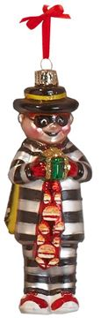 Picture of Hamburglar Blown Glass Ornament