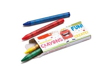 Picture of Happy Crayons - 500 per Case