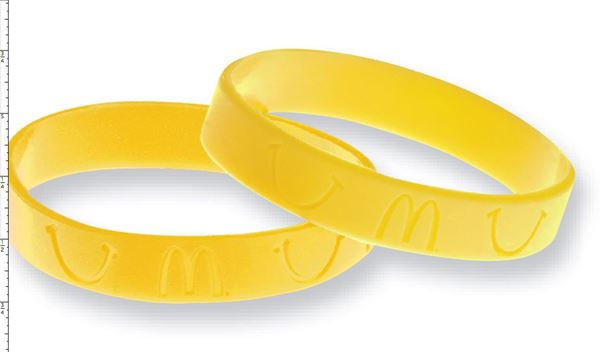 Picture of Yellow Bracelets - 100 per Pack