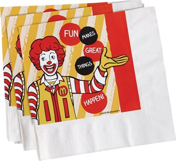 Picture of Ronald Paper Napkins - 450 per Case