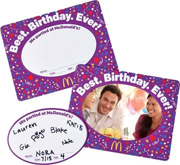 Picture of Magnet Birthday Frame