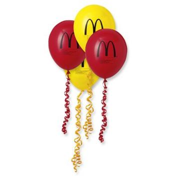 Picture of Red and Yellow Balloons - 100 per Pack