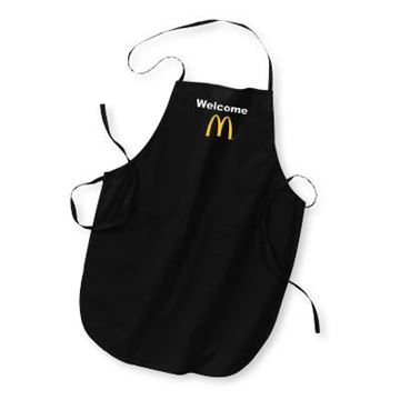 Picture of Black Welcome Apron