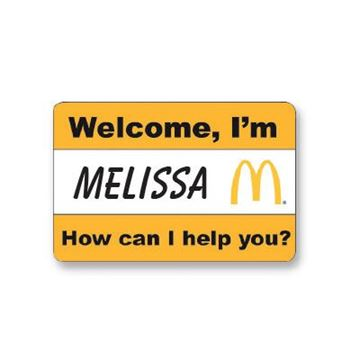 Picture of Welcome Event Name Badge