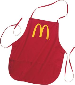 Picture of McDonald's Red Apron