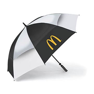 Picture of Black/White Golf Umbrella