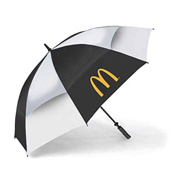 Picture of Black/White Golf Umbrella