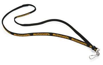 Picture of Black Lanyard