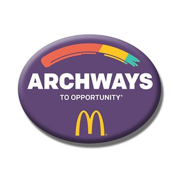 Picture of Archways Lapel Pin