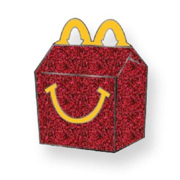 Picture of Happy Meal Box Lapel Pin