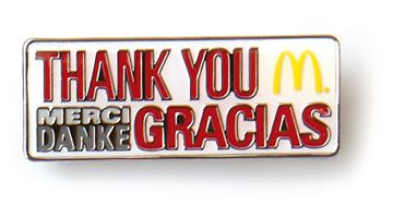 Picture of Thank You Lapel Pin
