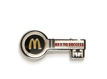 Picture of Key to Success Lapel Pin
