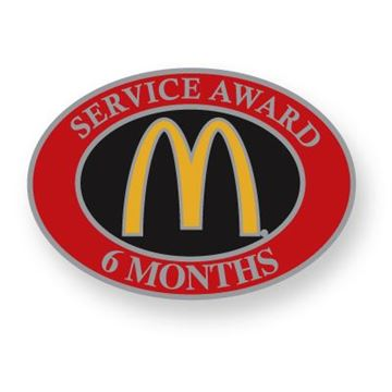 Picture of Six Month Service Lapel Pin