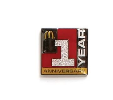 Picture of One Year Lapel Pin