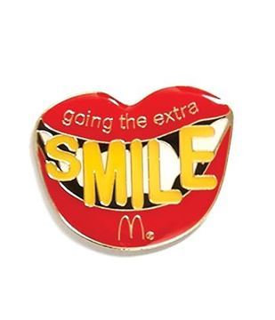 Picture of Going the Extra Smile Lapel Pin