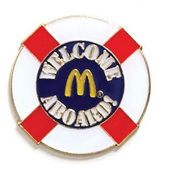 Picture of Welcome Aboard Lapel Pin