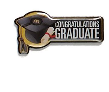 Picture of Graduate Lapel Pin