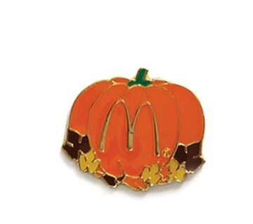 Picture of Fall Pumpkin Lapel Pin