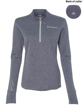 Picture of Ladies' adidas® 1/4-Zip Pullover