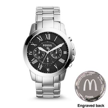 Picture of Men's Fossil® Black-Face Watch