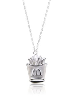 Picture of Sterling Silver French Fry Necklace