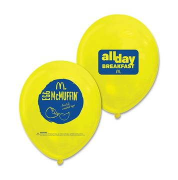 Picture of All Day Breakfast McMuffin Balloons - 36 per Pack