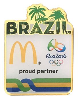 Picture of Brazil Lapel Pin