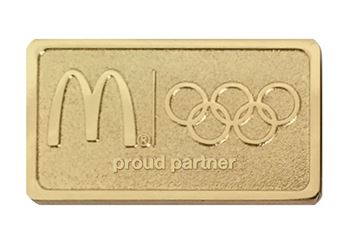 Picture of Olympic Gold Lapel Pin