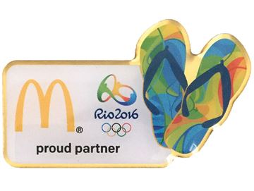 Picture of Rio Flip Flops Lapel Pin