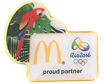 Picture of Rio Parrot Lapel Pin