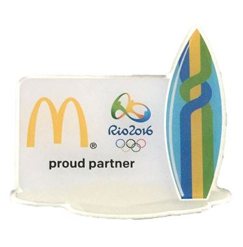 Picture of Rio Surfboard Lapel Pin