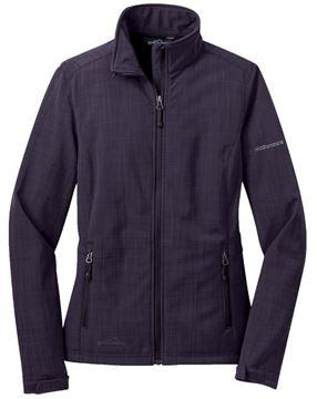 Picture of Ladies' Eddie Bauer Soft Shell Purple Jacket