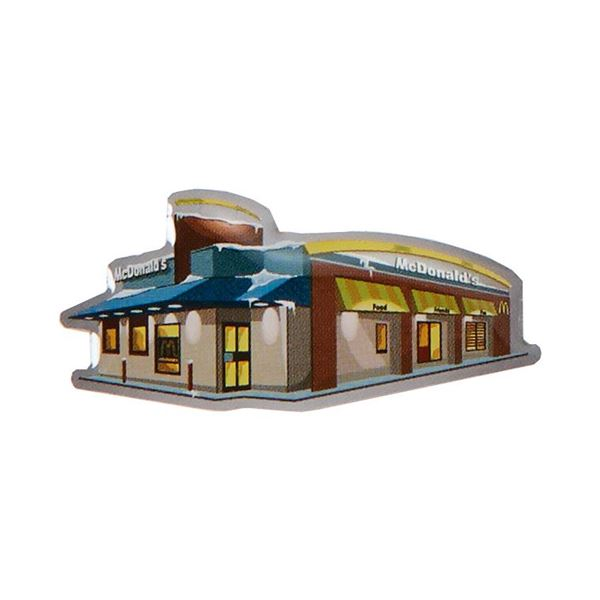 Picture of Snowy Restaurant Lapel Pin