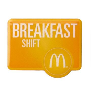 Picture of Breakfast Shift Lapel Pin
