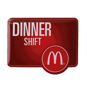 Picture of Dinner Shift Lapel Pin