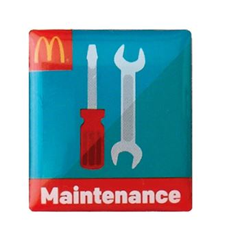 Picture of Maintenance Lapel Pin