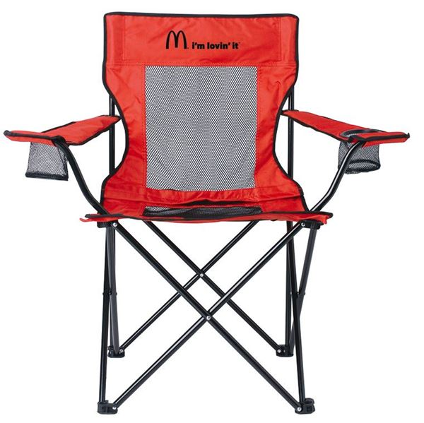 Picture of Red Mesh Travel Chair