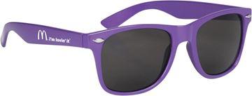 Picture of Purple Malibu Sunglasses