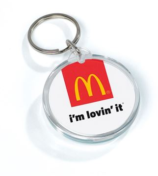 Picture of I'm Lovin' It Acrylic Keytag