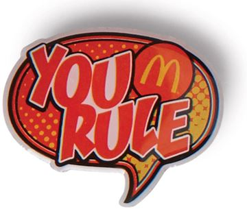 Picture of You Rule Lapel Pin