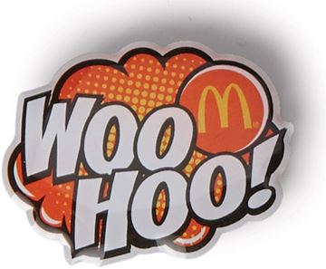 Picture of Woo Hoo Lapel Pin