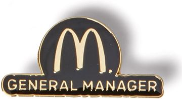 Picture of Gold General Manager Lapel Pin