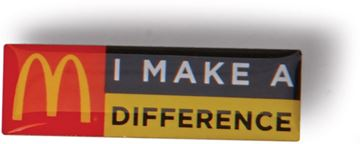 Picture of I Make a Difference Lapel Pin