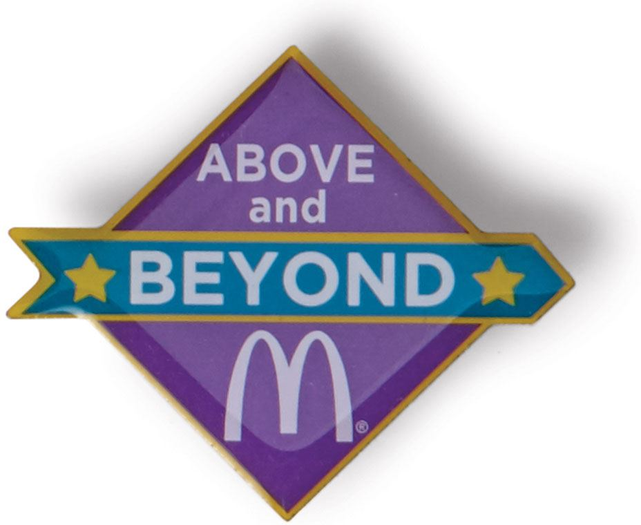 Above And Beyond Lapel Pin Smilemakers