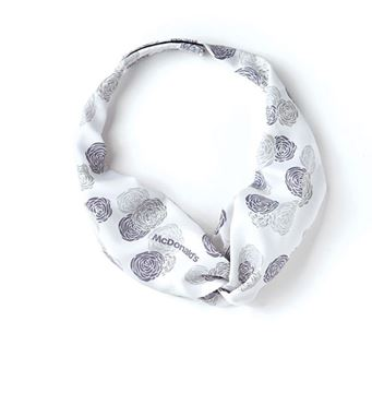 Picture of Ladies' Lavendar and Grey Floral Tie