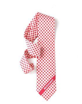 Picture of Men's Pink Gingham Tie