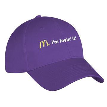 Picture of Purple I'm Lovin' It Event Cap