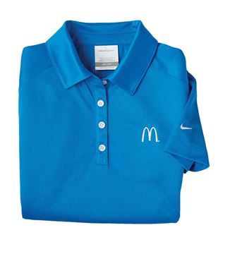 Picture of Ladies' Nike® Blue DriFit Polo