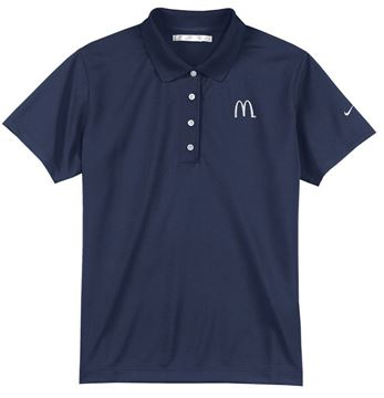 Picture of Ladies' Nike® Navy DriFit Polo